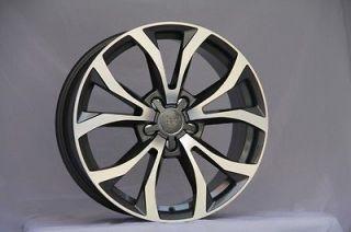 18 r8 style wheels VW GOLF CC R32 GTI JETTA PASSAT AUDI A5 WHEELS RIMS