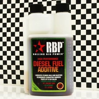 RBP HP+ High Performance Diesel Fuel Power Additive Increase Mileage