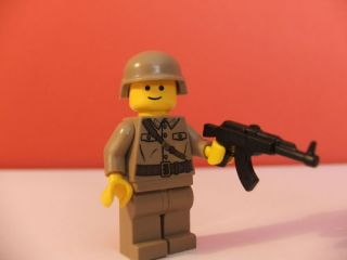 Lego Mini Fig Figure Custome MW2 COD AK47 Marine Rare