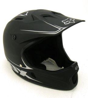 NEW Fox Rampage Downhill Helmet   Matte Black   Large (59 60cm)