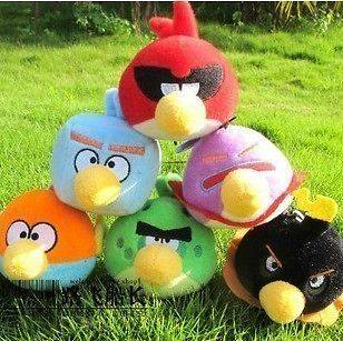 Newly listed 7CM New Space Angry Birds Plush Doll Toys Cute Cotton