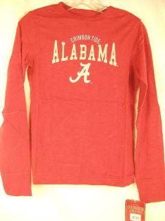 Alabama Crimson Tide LS shirt women slim fit pick size