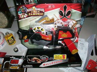 Power Rangers 2012 Super Samurai Ranger Bullzooka Weapon NEW MISB MIB
