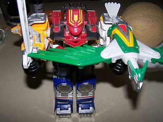 POWER RANGERS MEGAZORD DELUXE LOST GALAXY GENTLY USED
