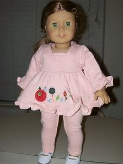 Pink floral sweatsuit Fits 18 American Girl Doll SUPER SALE