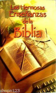 LAS HERMOSAS ENSENANZAS DE LA BIBLIA en ESPANOL