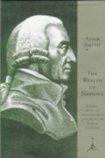 The Wealth of Nations by Adam Smith 1994, Hardcover