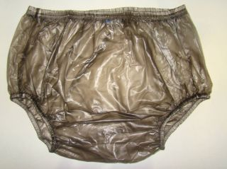 New ADULT BABY PLASTIC PANTS PVC incontinence #P005 2T