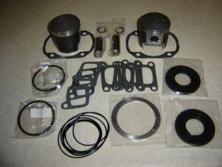 Rotax 503 Ultralight aircraft engine top end piston & gasket kit