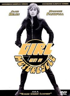 Girl on a Motorcycle DVD, 1999, Uncensored European Version