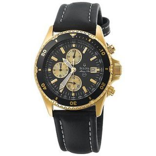 NEW NEVER WORN Bulova Marine Star Chronograph Mens Watch 98B013