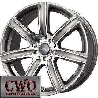 17 Gunmetal MB Alpina Wheels Rims 5x110/5x115 5 Lug Malibu CTS DTS
