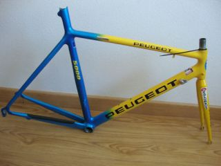 PEUGEOT ALU SIZE 57 TIME TRIAL 650C RARE TOUR FRANCE