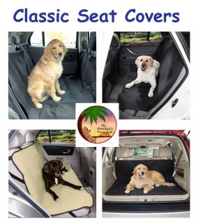 CLASSIC CAR SEAT COVERS   Black or Khaki   Classic High Quality & Low