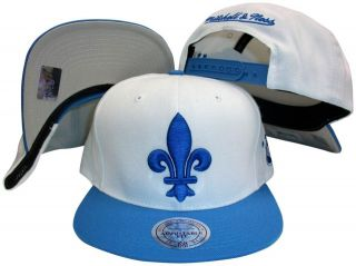Quebec Nordiques Snapback Hat Mitchell & Ness NC98Z