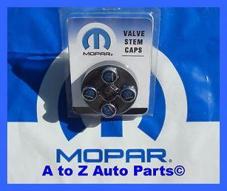 Chrysler,Jeep, Dodge, Ram Etc. MOPAR LOGO Tire Valve Stems, OEM METAL