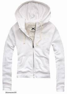 NEW GILLY HICKS BY ABERCROMBIE & FITCH WOMENS FUR HOODIE SWEATSHIRT