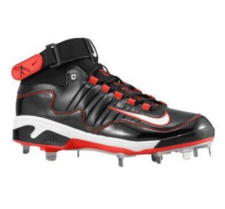 Nike Air SWINGMAN REMIX 2 Metal 3/4 Baseball Cleats Black Red GRIFFEY
