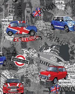 30cm TBL020 The Union Jack British Flag linen fabric Cushion Cover