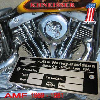 AMF Harley Davidson Shovel Shovelhead FL FX FXB Chopper Bobber HD4