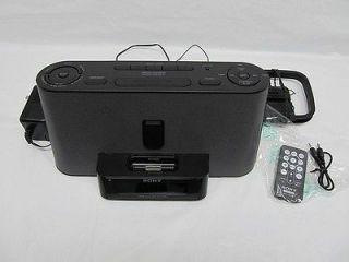 Sony Speaker Dock/Clock Radio for iPod/iPhone ICF C1iPMK2 Black
