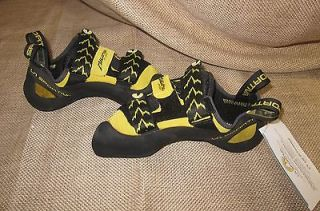 LA SPORTIVA MIURA VS ROCK CLIMBING SHOES 555 BLACK/YELLOW size 42