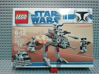 LEGO **STAR WARS** 8014 Clone Walker Battle Pack Brand New Sealed
