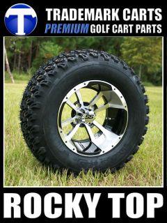 CLUB CAR 6 LIFT KIT + 12 Storm Trooper Wheels and Tires Golf Cart