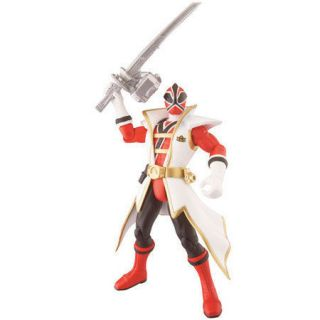 Power Rangers Super Samurai 10 cm Red Ranger with weapon figure New