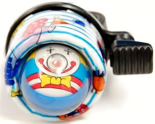Clown Face Kids Bike Bell Ping Style Cycle Horn