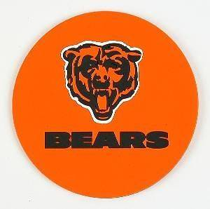 CHICAGO BEARS Coasters Set 4 PRO Football NFL Licensed Sports LOGO