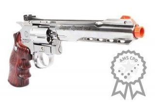 CPO WG FULL METAL M702 MAGNUM CO2 Pistol Revolver Airsoft Gun