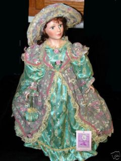 22 in Tall   Collectible Memories Porcelain Doll   Margaret   Ltd Ed
