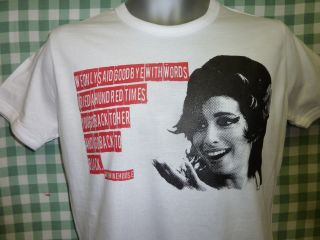 AMY WINEHOUSE LADIES or MENS T SHIRT S M L XL XXL