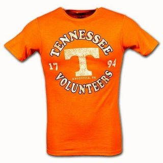 NEW Tennessee Volunteers Vols Orange Letterman NCAA Mens Shirt/Tee Sz