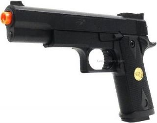 300 FPS BLACK OPS M 1911 A1 SPRING AIRSOFT HAND GUN PISTOL 6mm BB