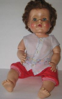JOINTED BABY DOLL AMERICAN CHARACTER 21 DOLL, VINTAGE COLLECTIBLE