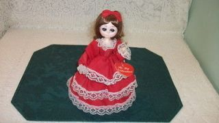 Vintage Big Eyed Doll Collectible Bradley Doll Valentin