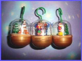 SURPRISE SET   CHRISTMAS XMAS SHELL PENDANTS 2001   TOYS COLLECTIBLES