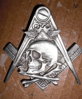 widows sons,freemason​, hiram abiff, harley masonic biker vest pin