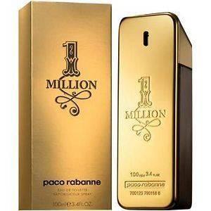 PACO RABANNE 1 MILLION 3.3oz EAU DE TOILETTE SPRAY
