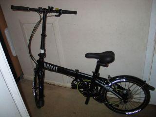 Mini Cooper Folding Bike Fast 20 inch Tire, British Designed Bycle