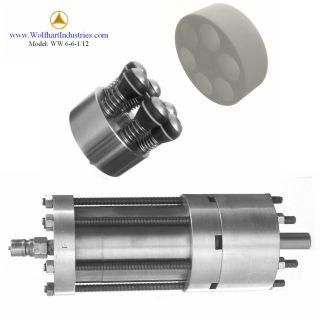 clean water hydraulic motor & oil free high pressure pump (1000PSI