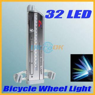 Bicycle Cycling Bike Tire Wheel decorative 16 Led Flash Light 32 kinds