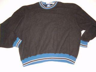 Champion beautiful sewn sweatshirt, royal and black, new w tags, size