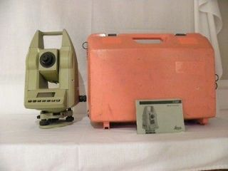 Leica Wild Heerbrugg Theodolite Total Station Power Communication Box
