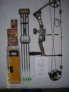 2011 BEAR ARCHERY ENCOUNTER COMPOUND BOW WITH ARROWS AND ACCESSORIES