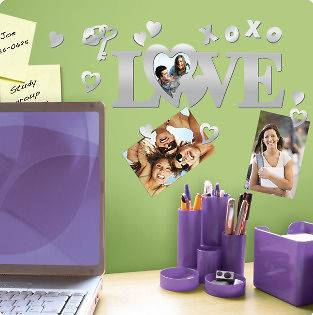 mirror wall stickers in Decals, Stickers & Vinyl Art