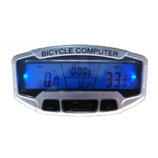 2012 New LCD Bicycle Bike Cycling Computer Odometer Speedometer With