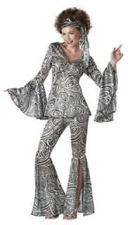 Foxy Lady 70s Disco Adult Womens Halloween Costume